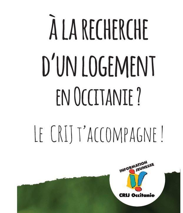 le CRIJ accompagne pour la recherche d'un logement en Occitanie