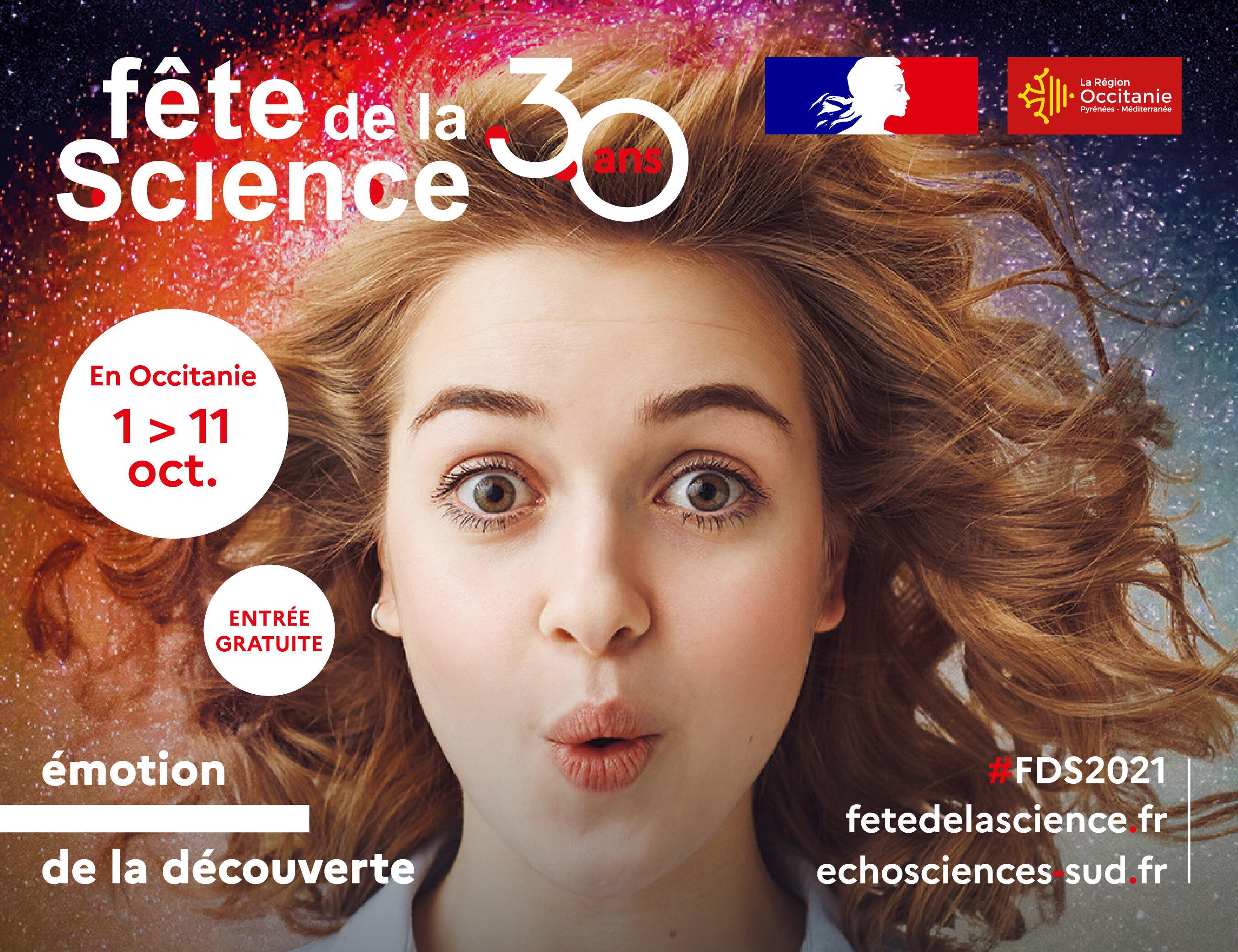 affiche fête de la science